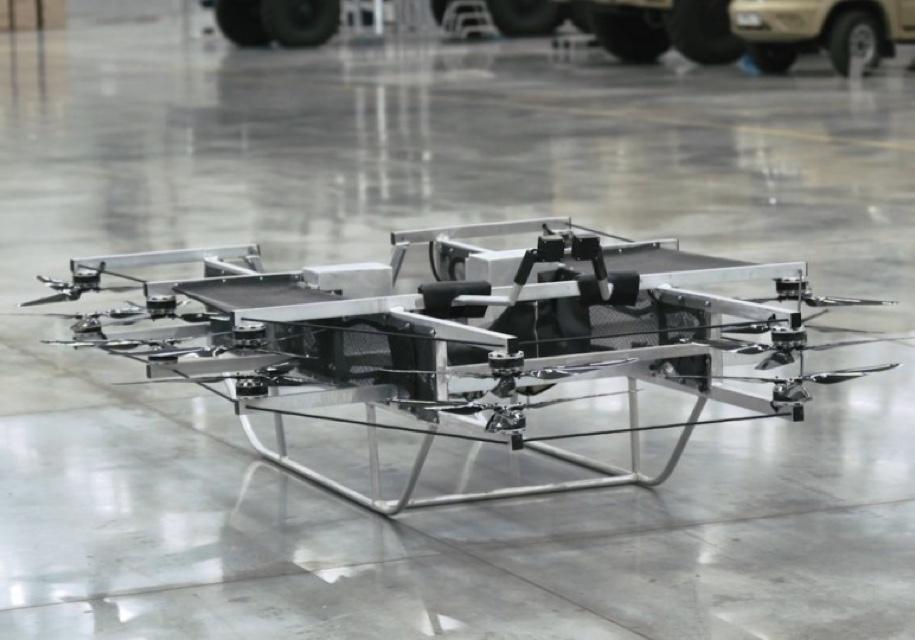 """Концерн """"Калашников"""" показал прототип летающего военного мотоцикла"""