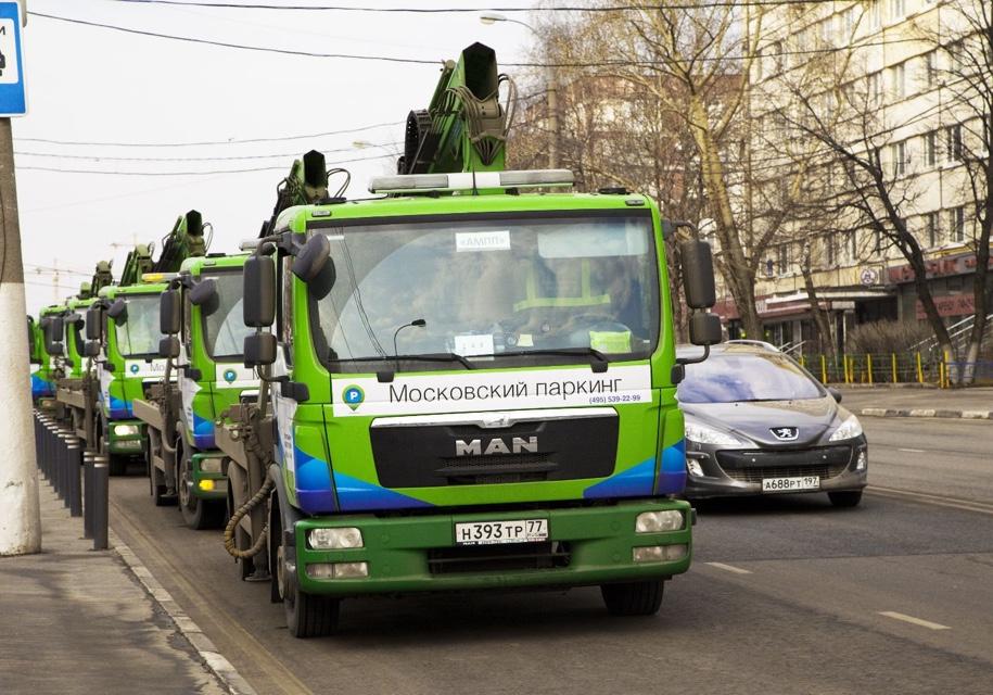 В российской столице впервую очередь нарушают правила парковки напроспекте Мира