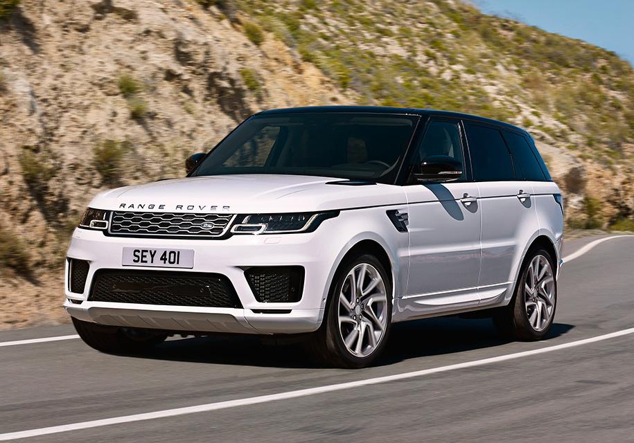 Рублевые цены нановый Range Rover Sport