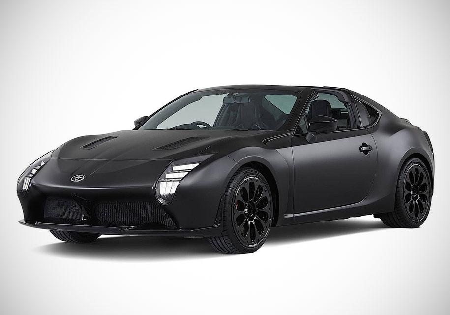 Компания Тойота показала новый спортивный автомобиль