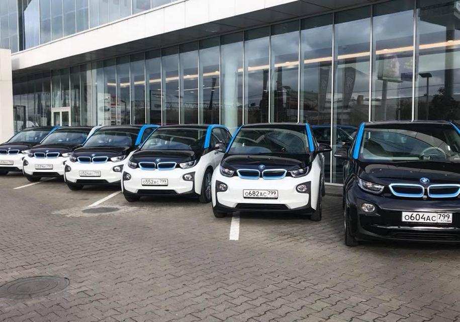 В Российской Федерации появился 1-ый каршеринг электромобилей— БМВ i3