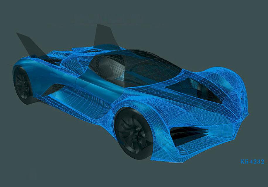 Русские инженеры презентовали прототип летающего автомобиля