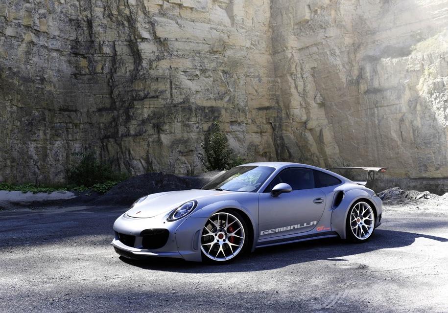 Немцы довели мощность Порш 911 Turbo до828 сил