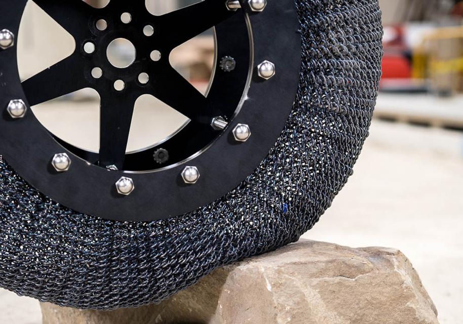 ВNASA разработали обновленный тип сверхупругих шин