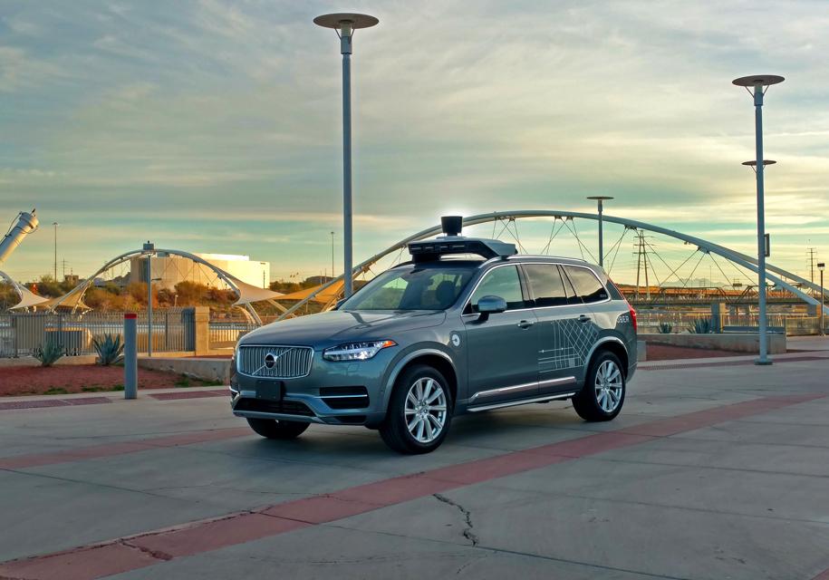 Uber устранит проблему укачивания вбеспилотных автомобилях