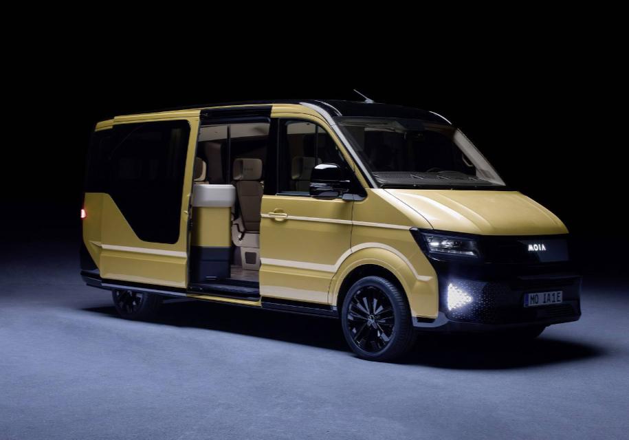 Moia представил концептуальный автомобиль шестиместного электрического минивэна