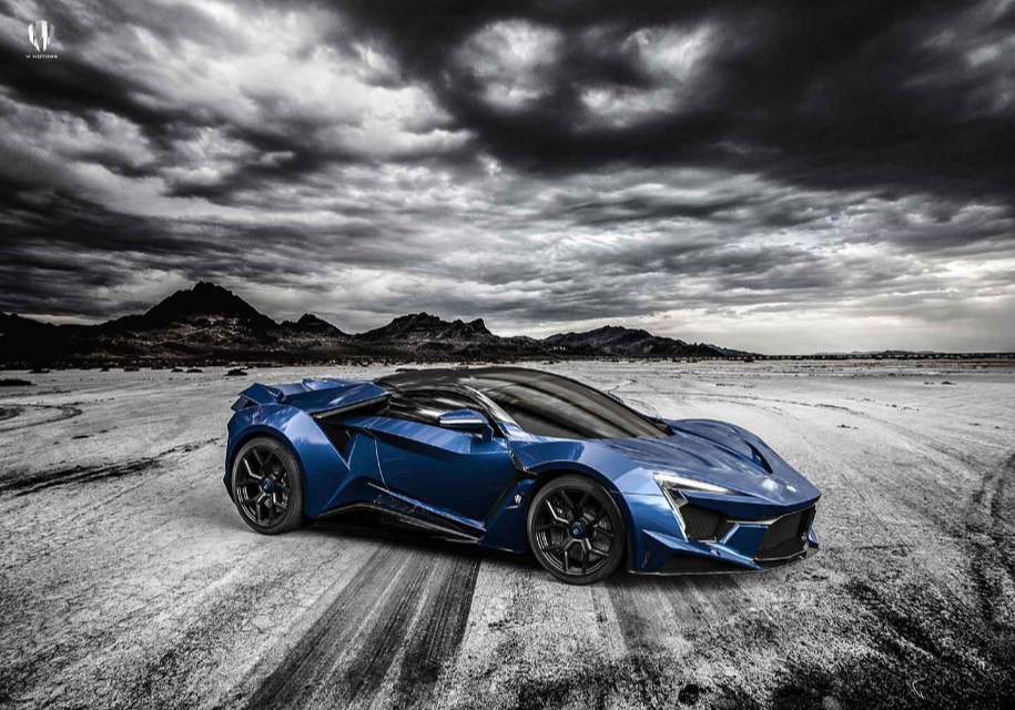 Стартовало серийное производство арабского гиперкара Fenyr SuperSport