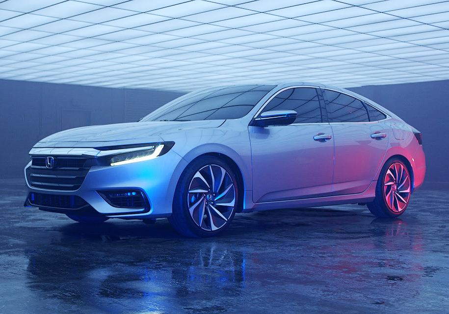 Вглобальной паутине опубликовали первые фото Хонда Insight обновленного поколения