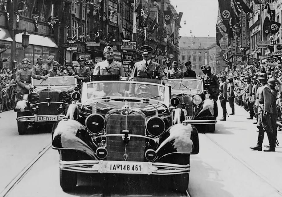 Торжественный Mercedes Гитлера выставили нааукцион