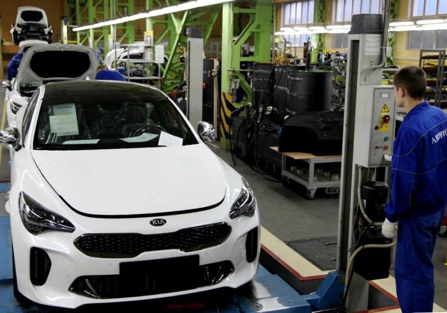 На «Автоторе» начали выпускать автомобили Киа Stinger