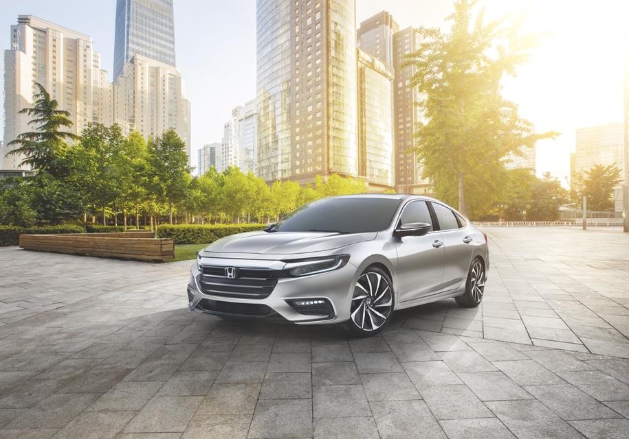 Хонда представила новый тип гибрида Insight