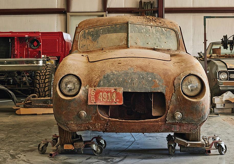 Вамериканском сарае найден редкостный БМВ 328, который гонялся в«Ле-Мане»