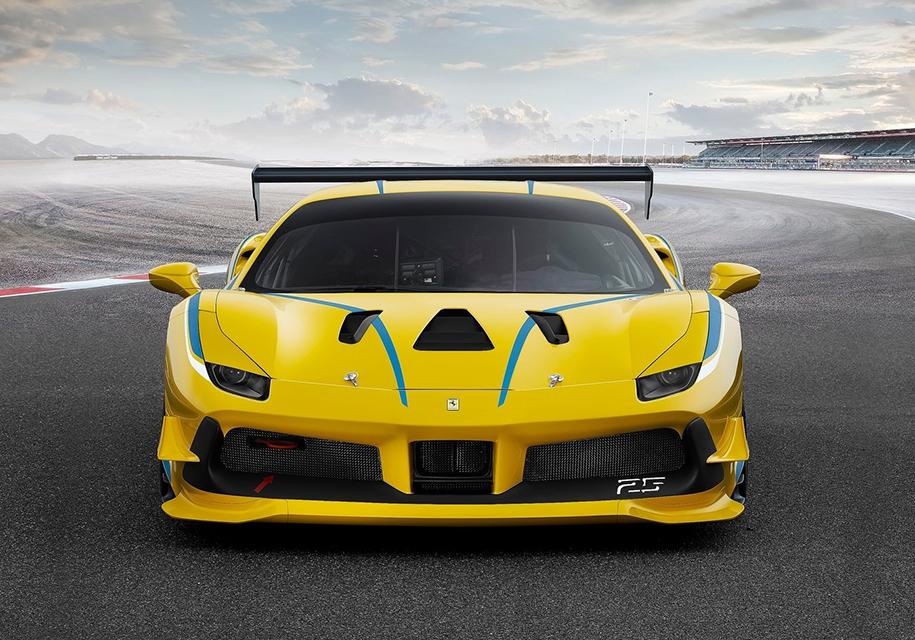 Суперкар Ferrari 488 GTO получит самый мощный V8 вистории марки
