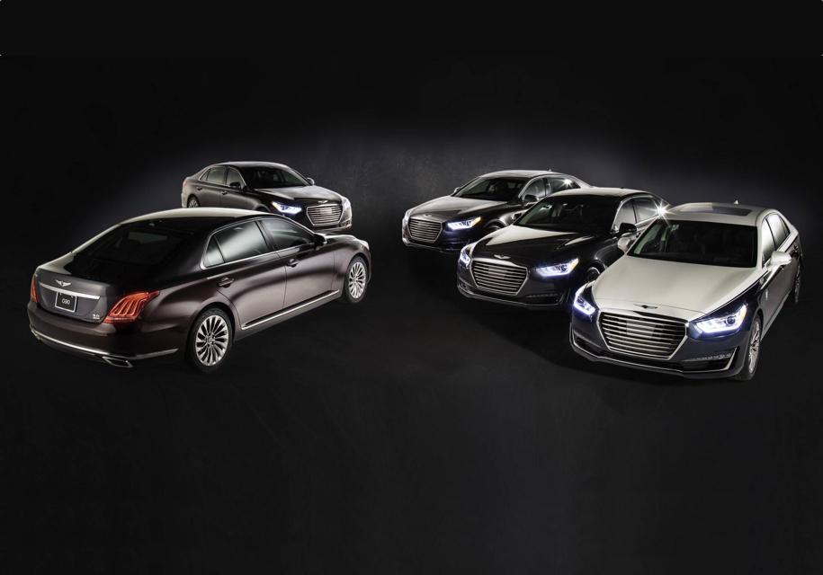 Седан Genesis G90 подготовили для церемонии Оскар 2018 года
