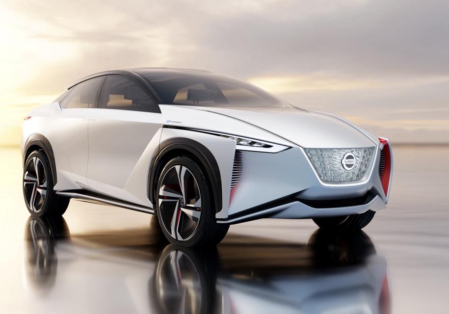 Nissan запустит всерию электрический кроссовер Imx