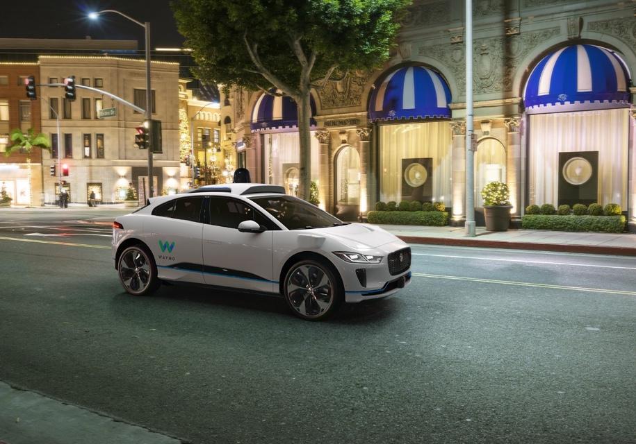 Новым беспилотным автомобилем Waymo стал Ягуар I-Pace