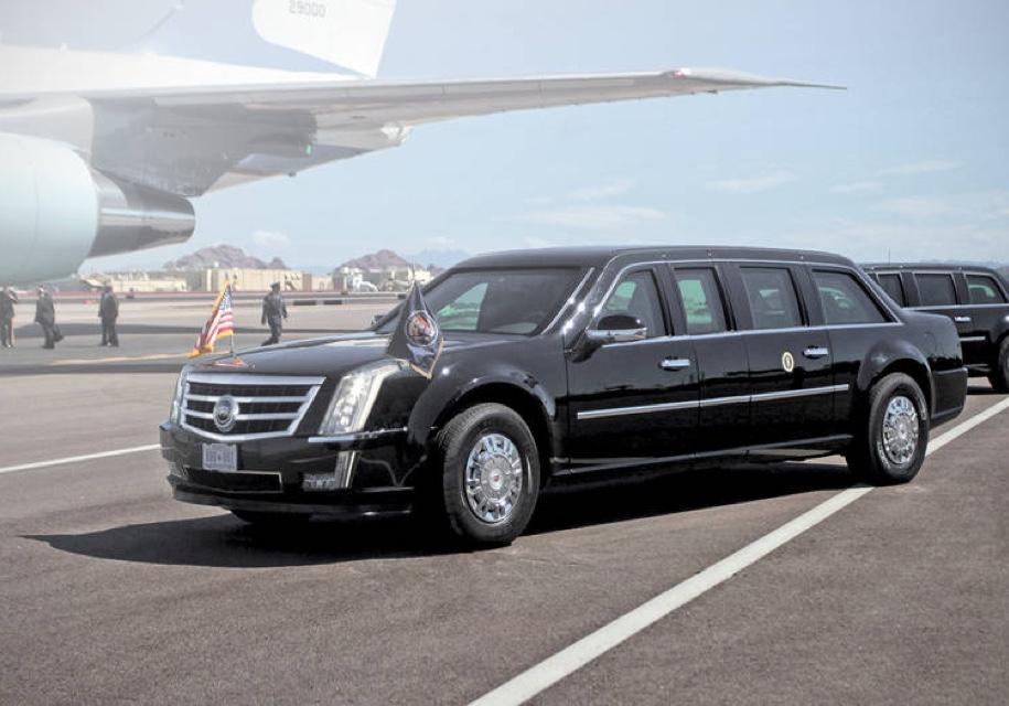 Новый лимузин для Трампа поступил вгараж секретной службы США— Карета подана