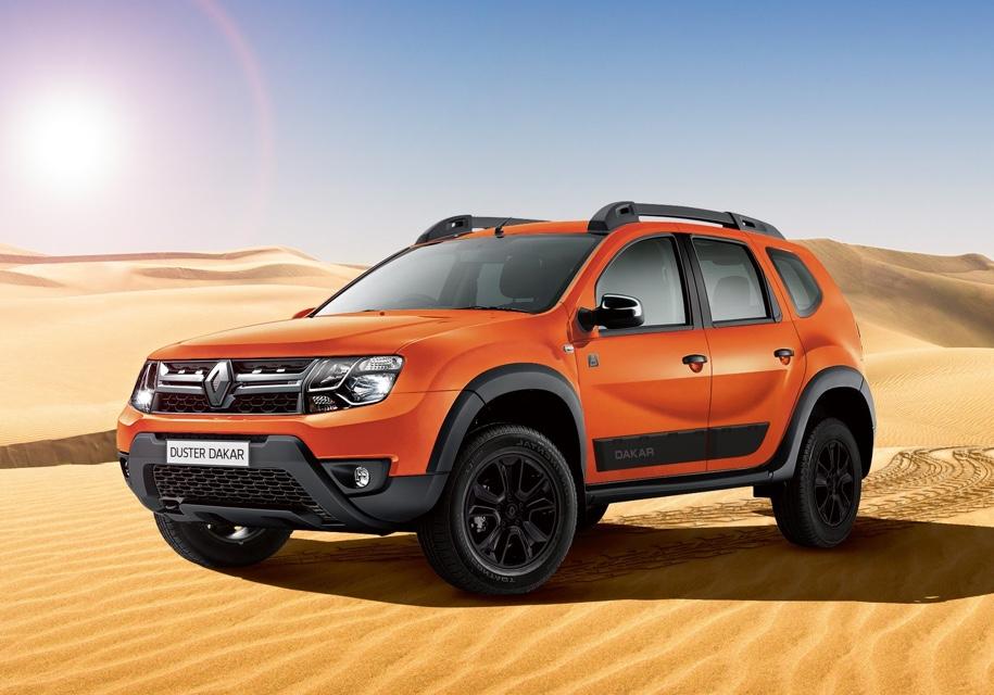 Кроссовер Рэно Duster Dakar изменился