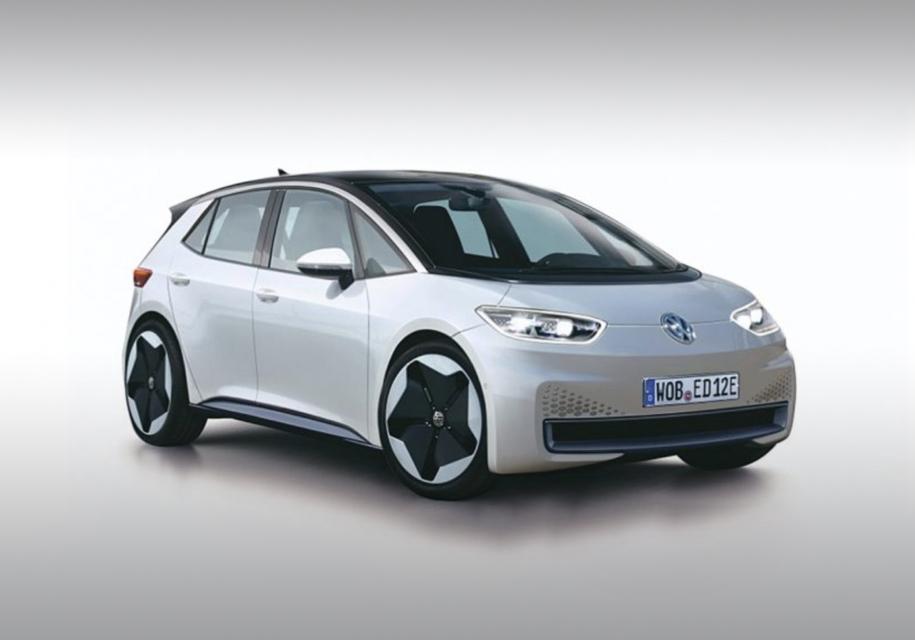Вглобальной web-сети появился 1-ый тизер самого нового электромобиля VW