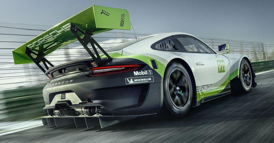 Компания Porsche усовершенствовала гоночный 911-й