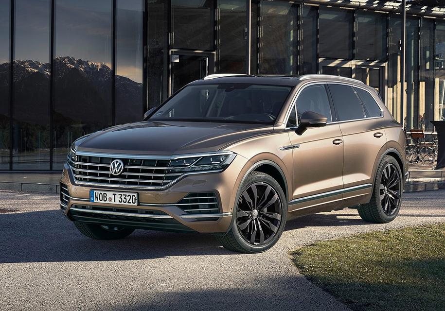 Озвучены все цены для Российской Федерации — Новый VW Touareg