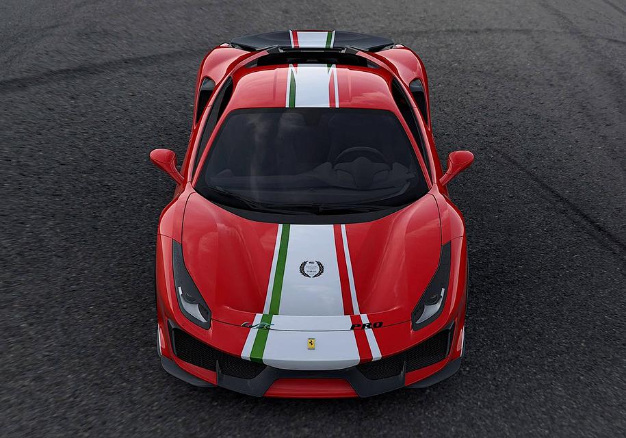 ВЛе-Мане покажется спецсерия Феррари 488 Pista Piloti Феррари