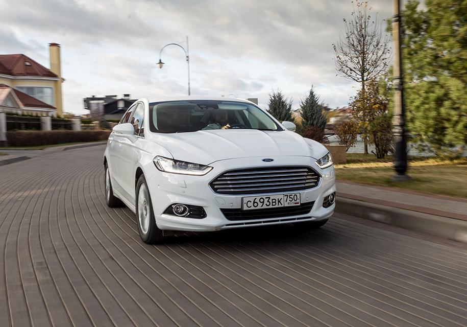 Форд презентовал обновлённый Mondeo для Российской Федерации