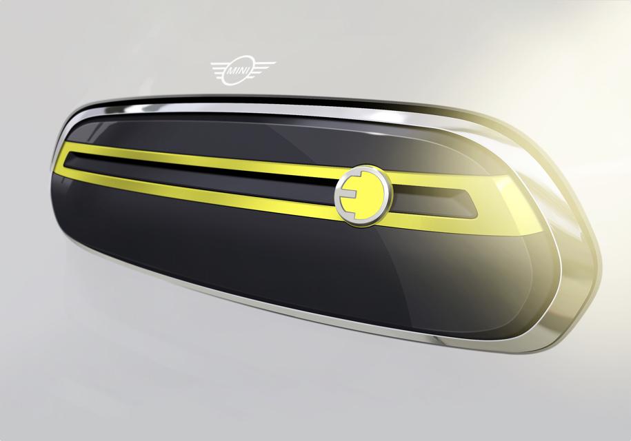 Компания Мини  показала  дизайн будущего электрокара