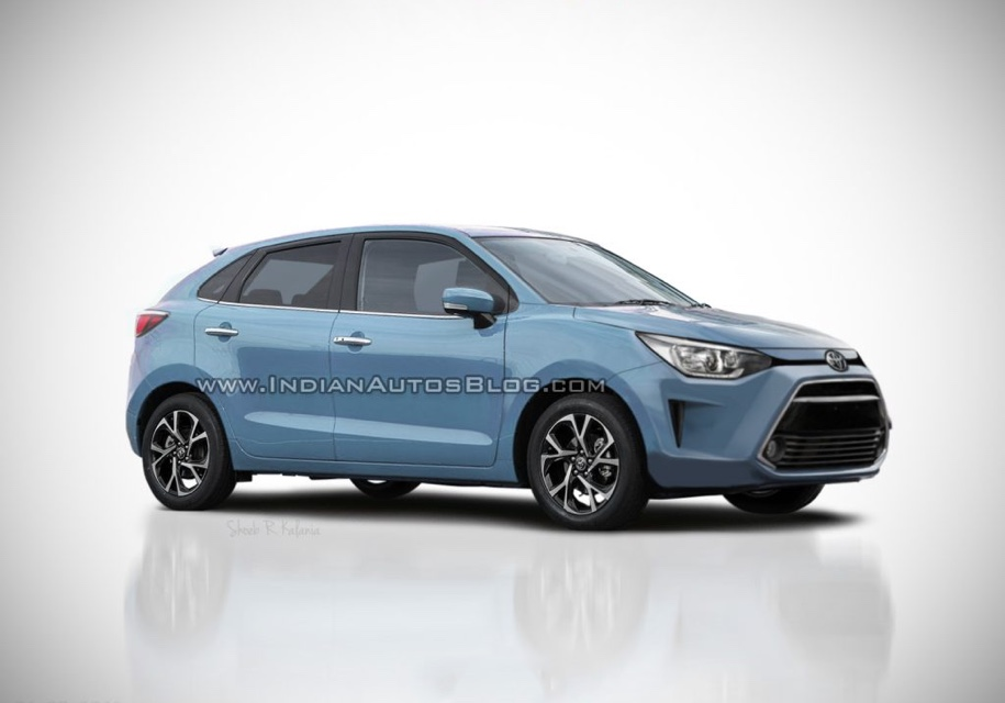 Так может выглядеть Toyota Baleno по мнению стороннего дизайнера. Иллюстрация: [IndianAutosBlog](https://indianautosblog.com/2018/08/toyota-baleno-for-india-311967).