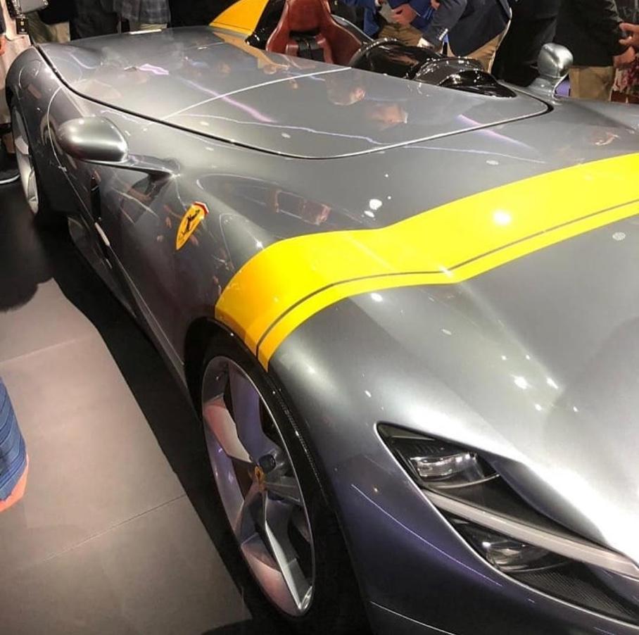 Раскрыт внешний вид спидстеров Ferrari Monza