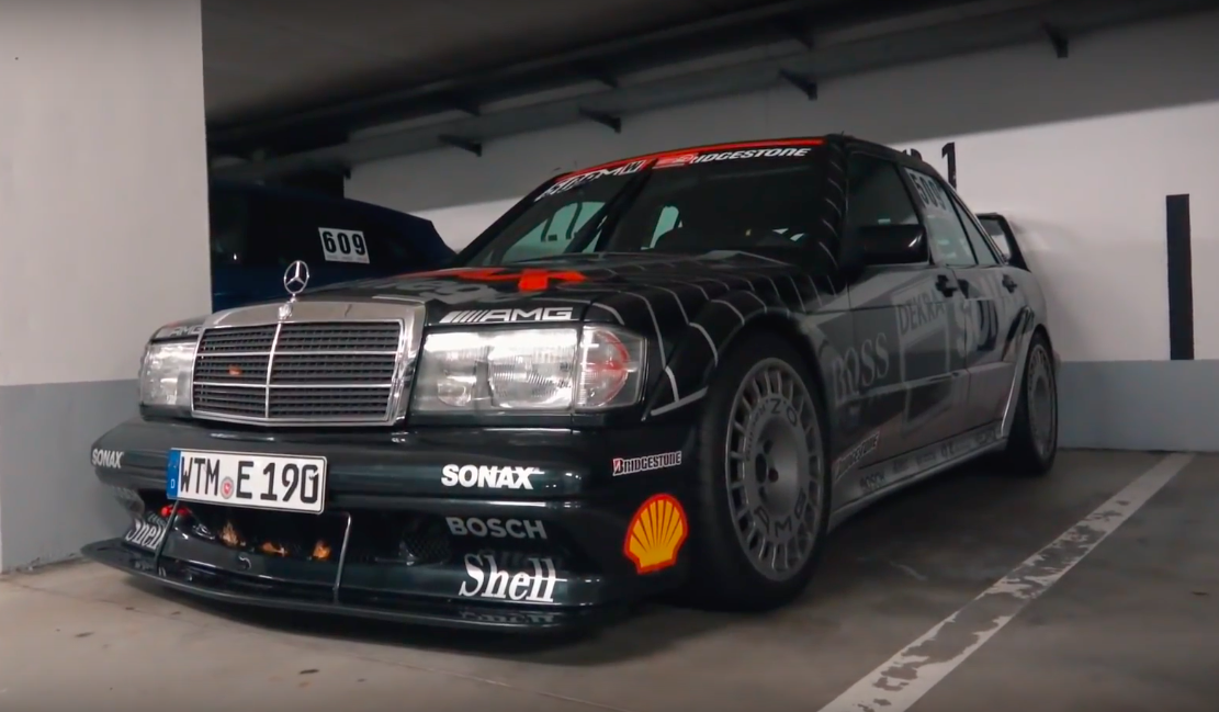 Послушайте, как звучит редчайший Mercedes-Benz 190E 2.5-16 Evolution II