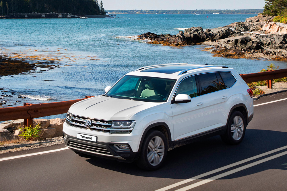 Volkswagen пересмотрел оснащение российского Teramont