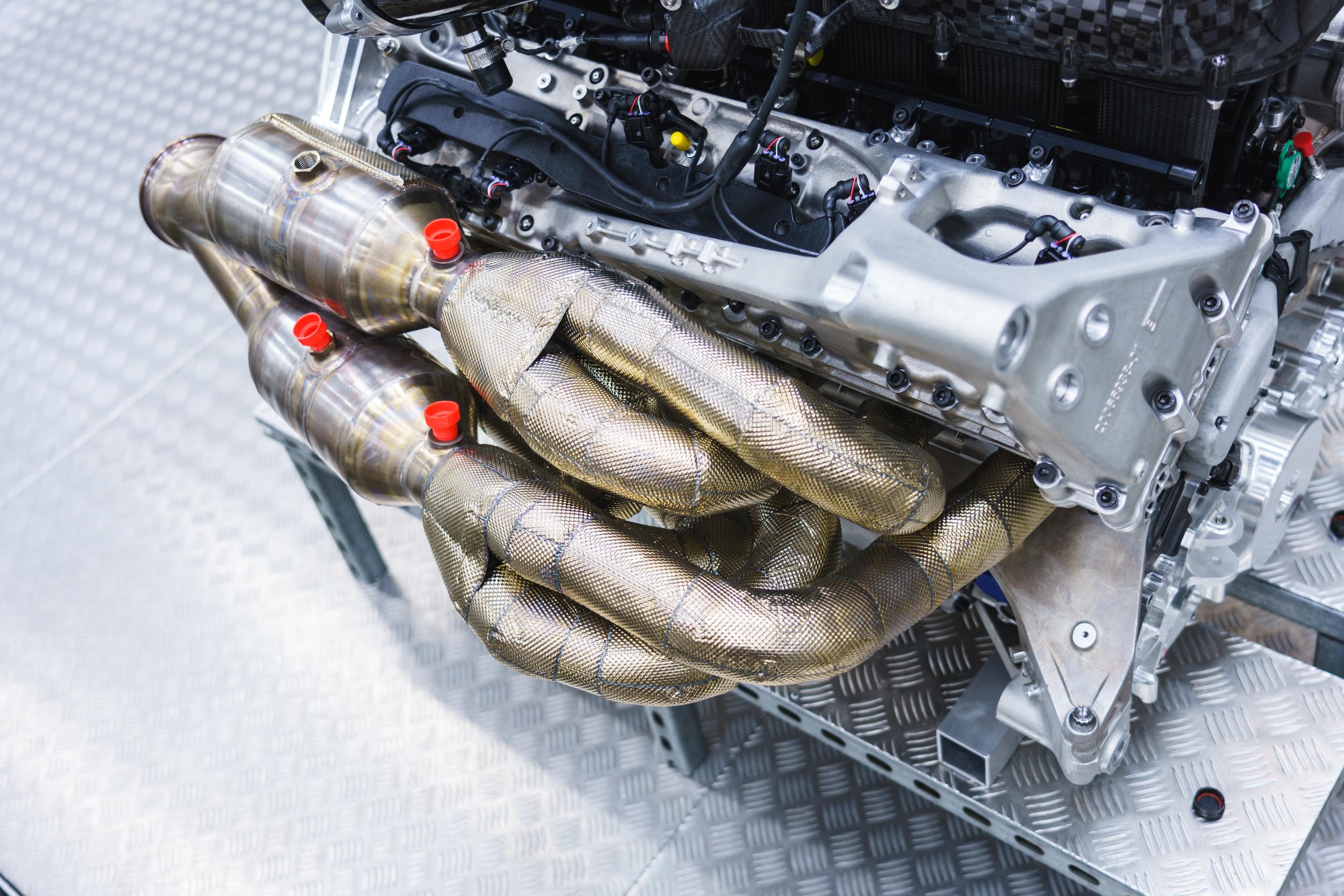 Cosworth построил 250-сильный трехцилиндровый «атмосферник»