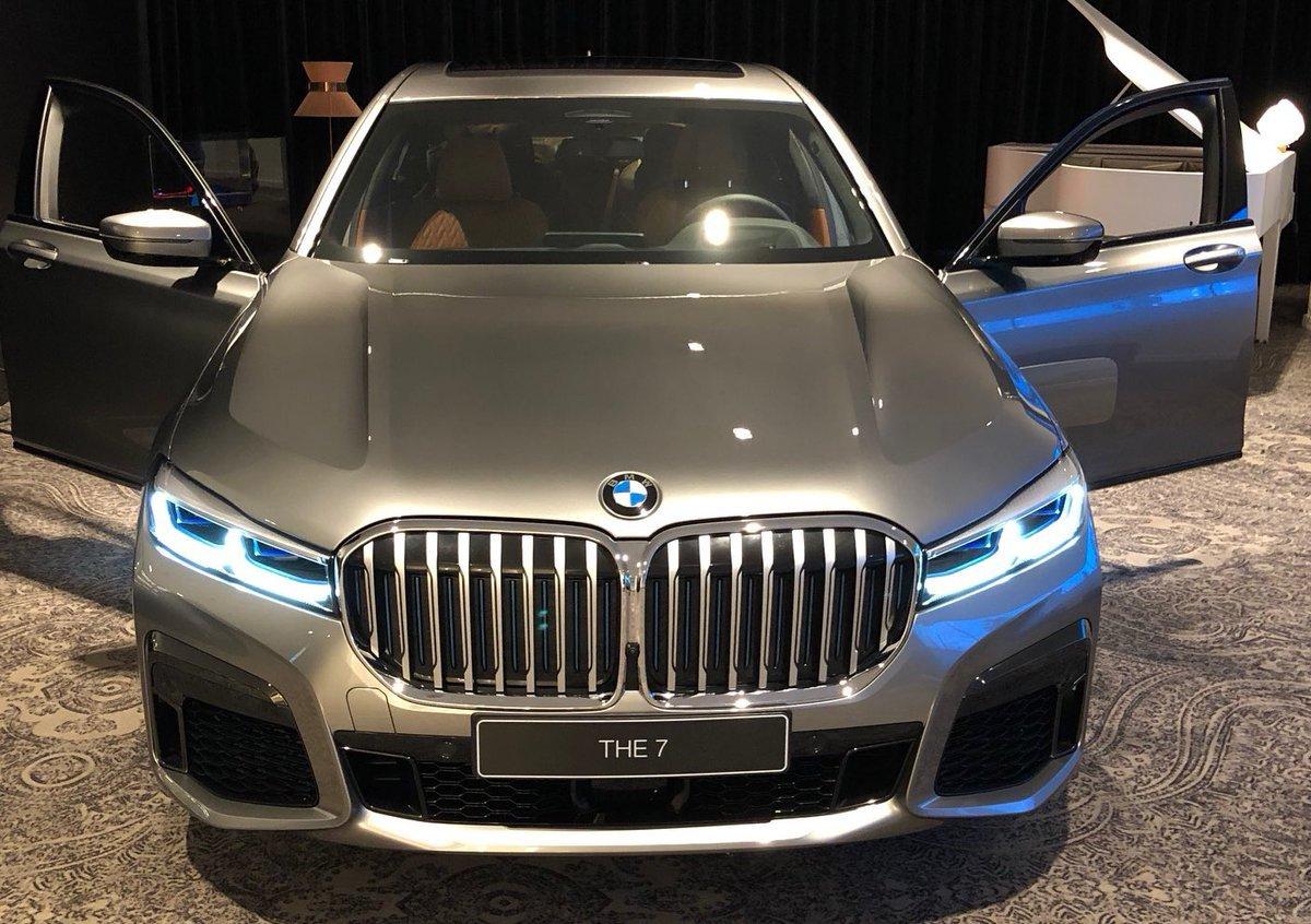 Обновленную BMW 7 серии сделают похожей на X7