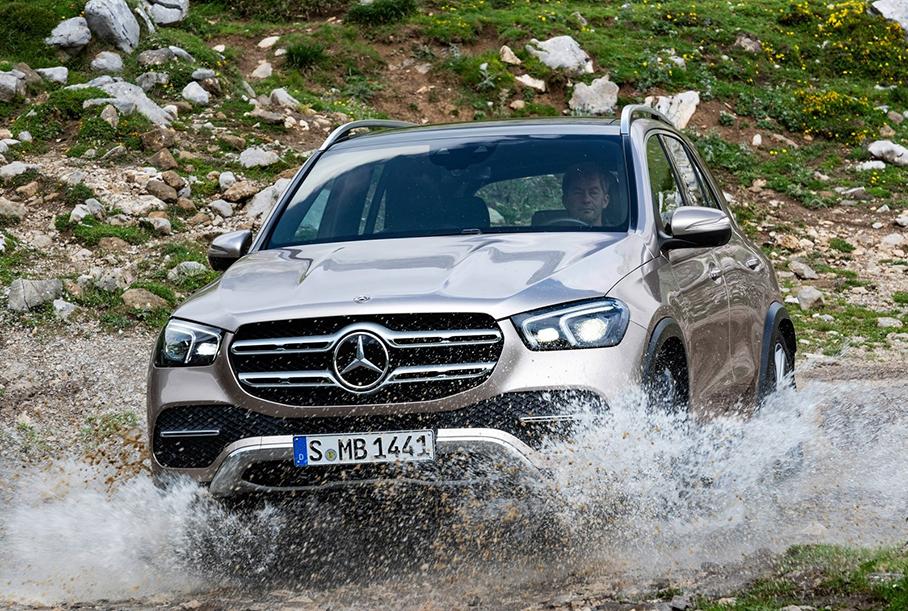 Стали известны рублевые цены на самый мощный дизельный Mercedes-Benz GLE