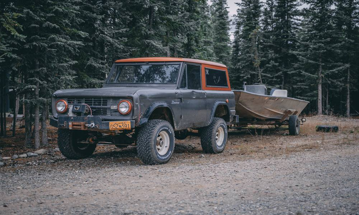 На Аляске нашли коллекцию классических Ford Bronco