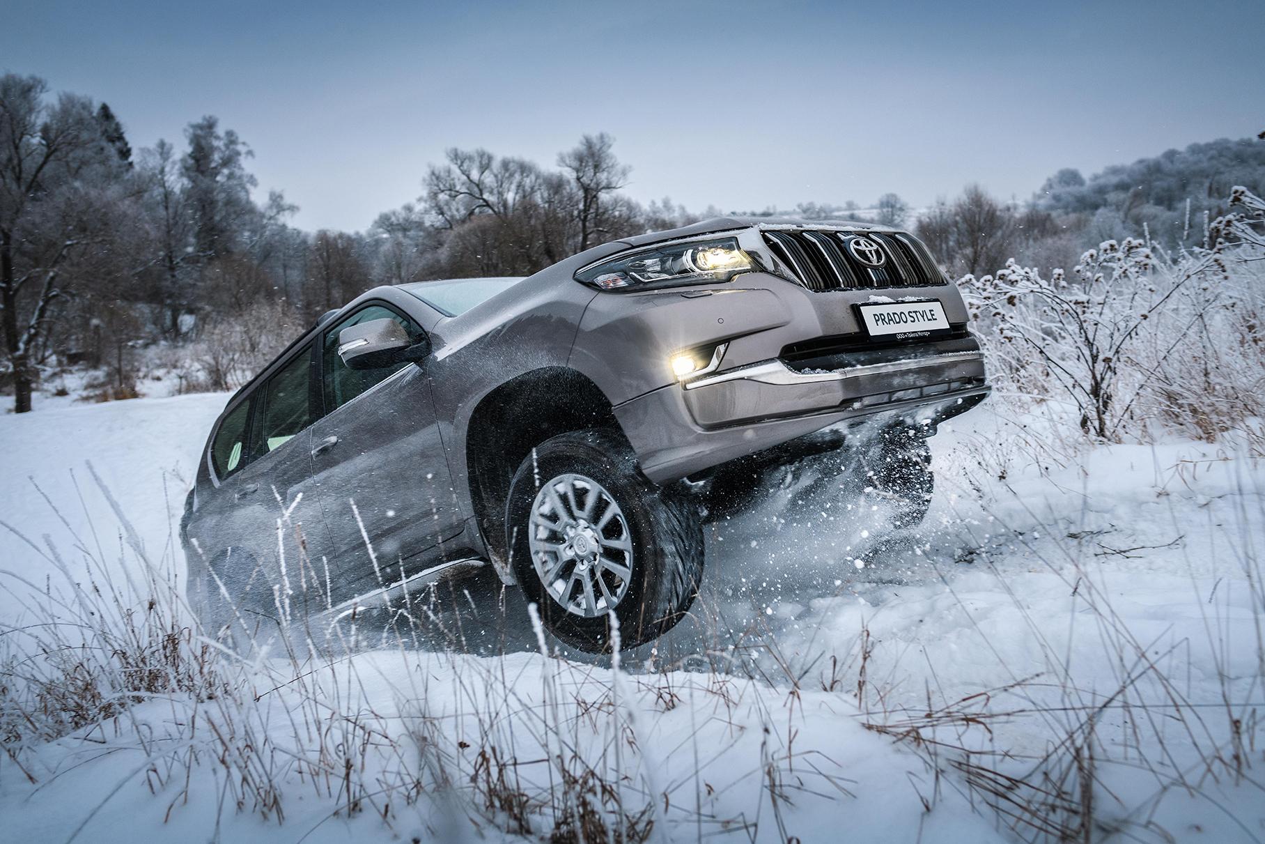 Toyota Land Cruiser Prado получил в России «стильную» версию