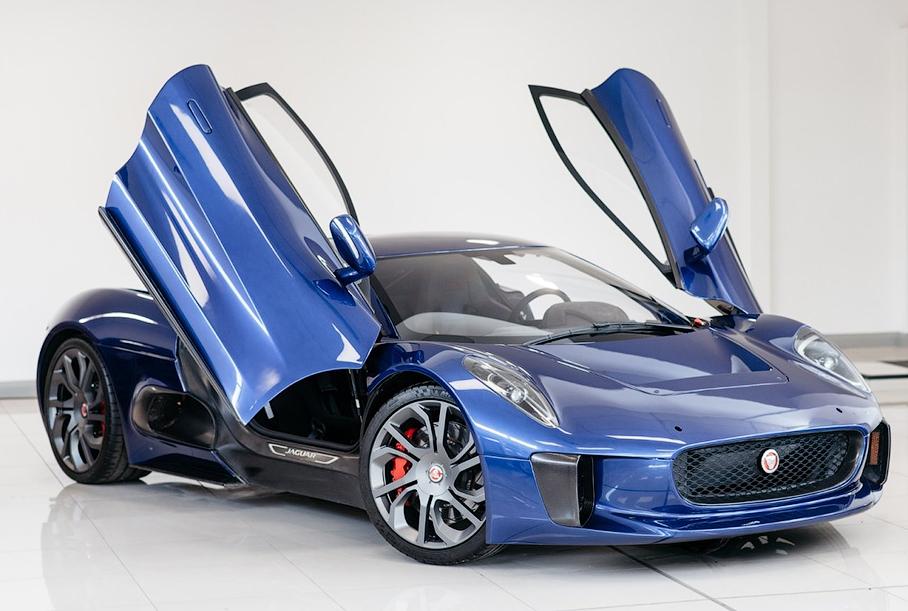 Cуперкар Jaguar C-X75 из фильма о Джеймсе Бонде выставили на продажу