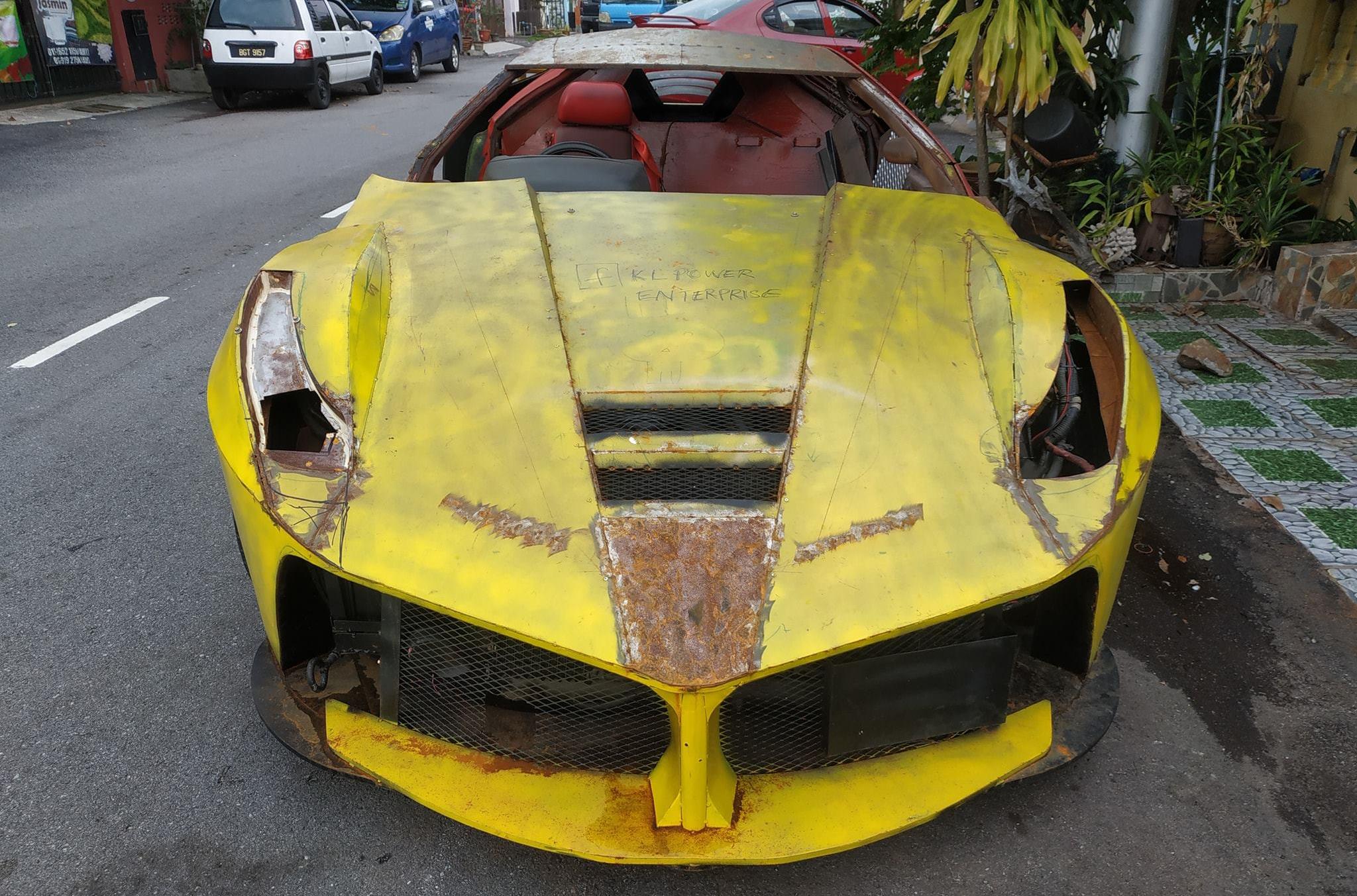 В Малайзии нашли худшую в мире реплику Ferrari LaFerrari