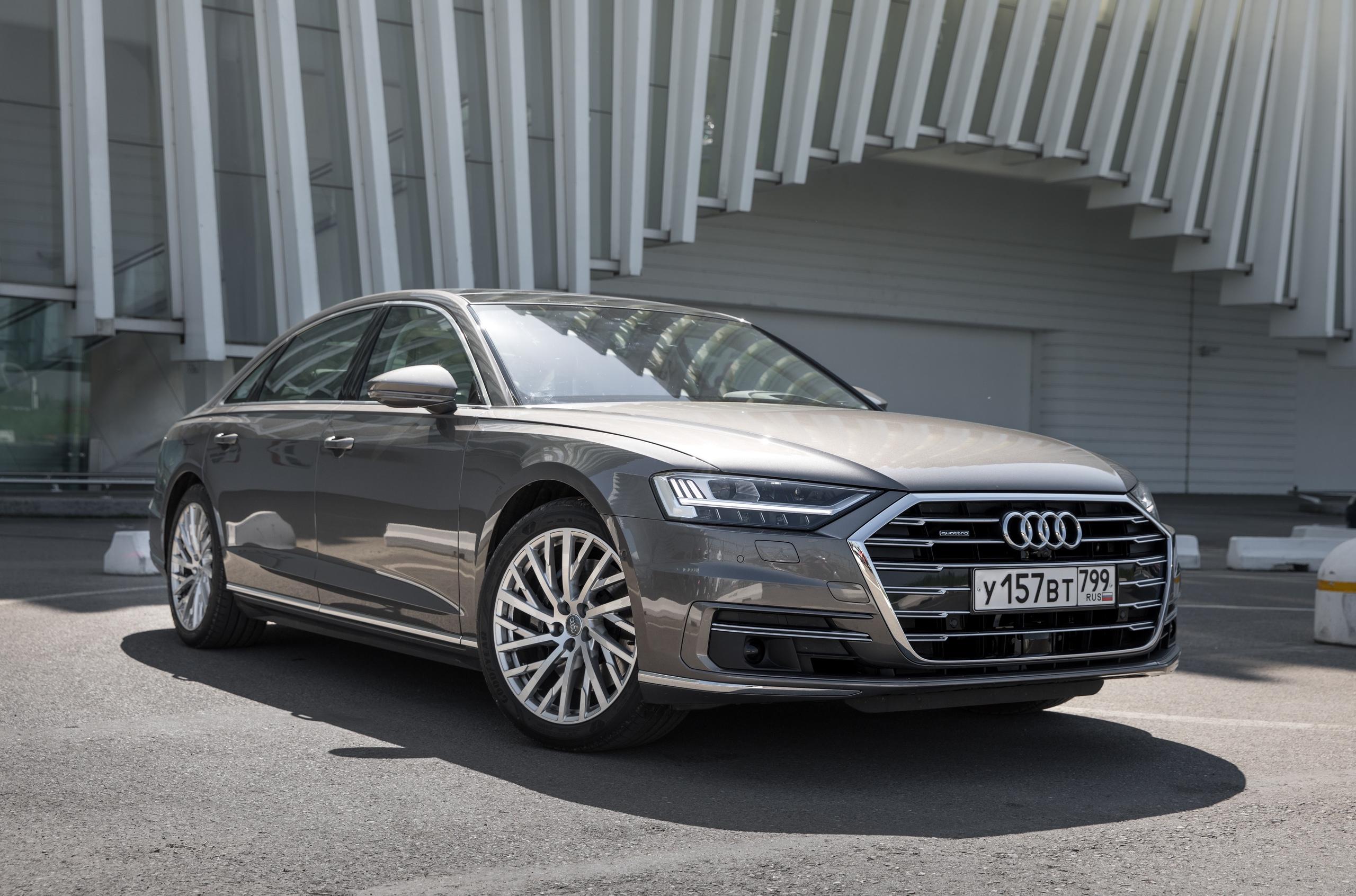В Россию приехала «дешевая» Audi A8. С дизельным V6