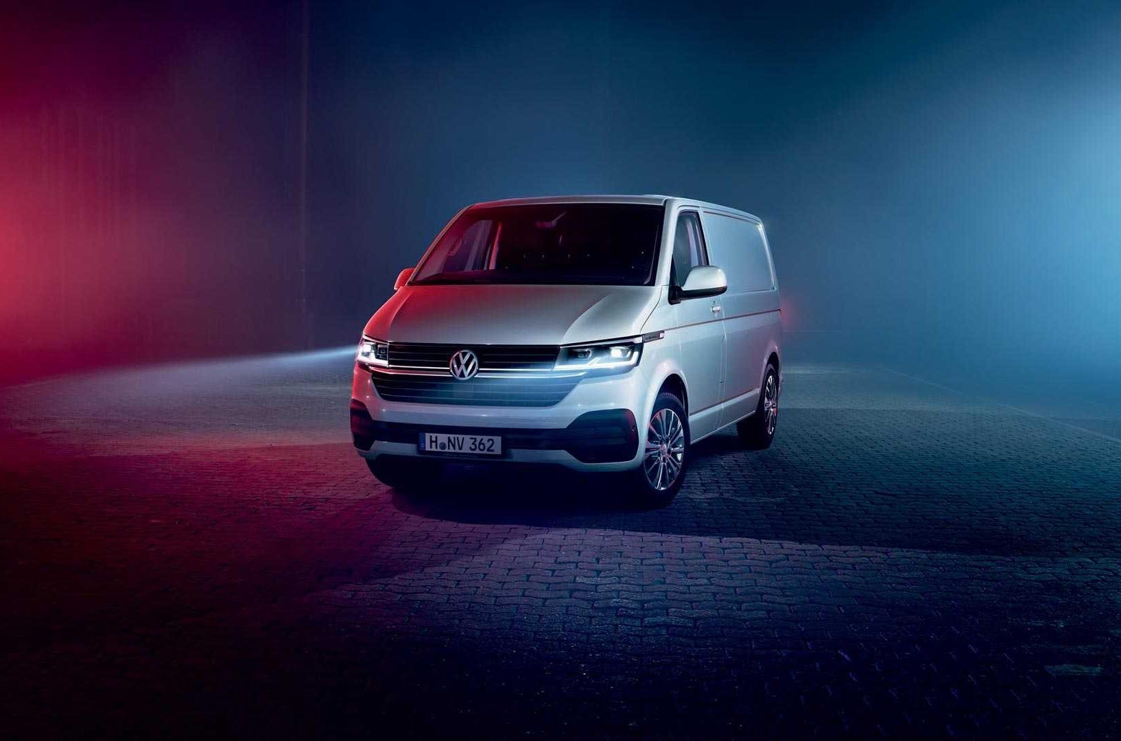 Volkswagen улучшил фургон Transporter