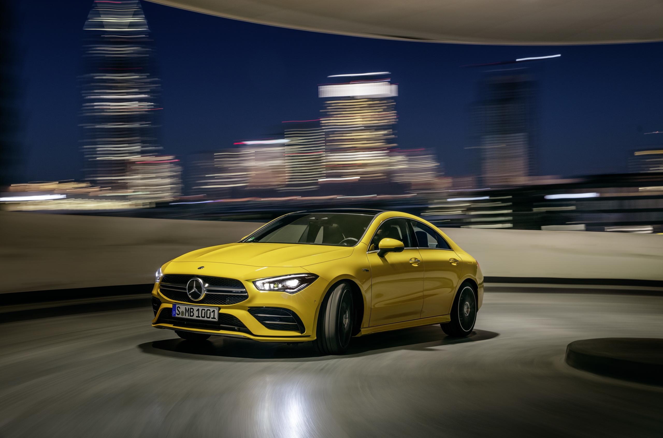 Представлена третья модель «бюджетного» семейства Mercedes-AMG