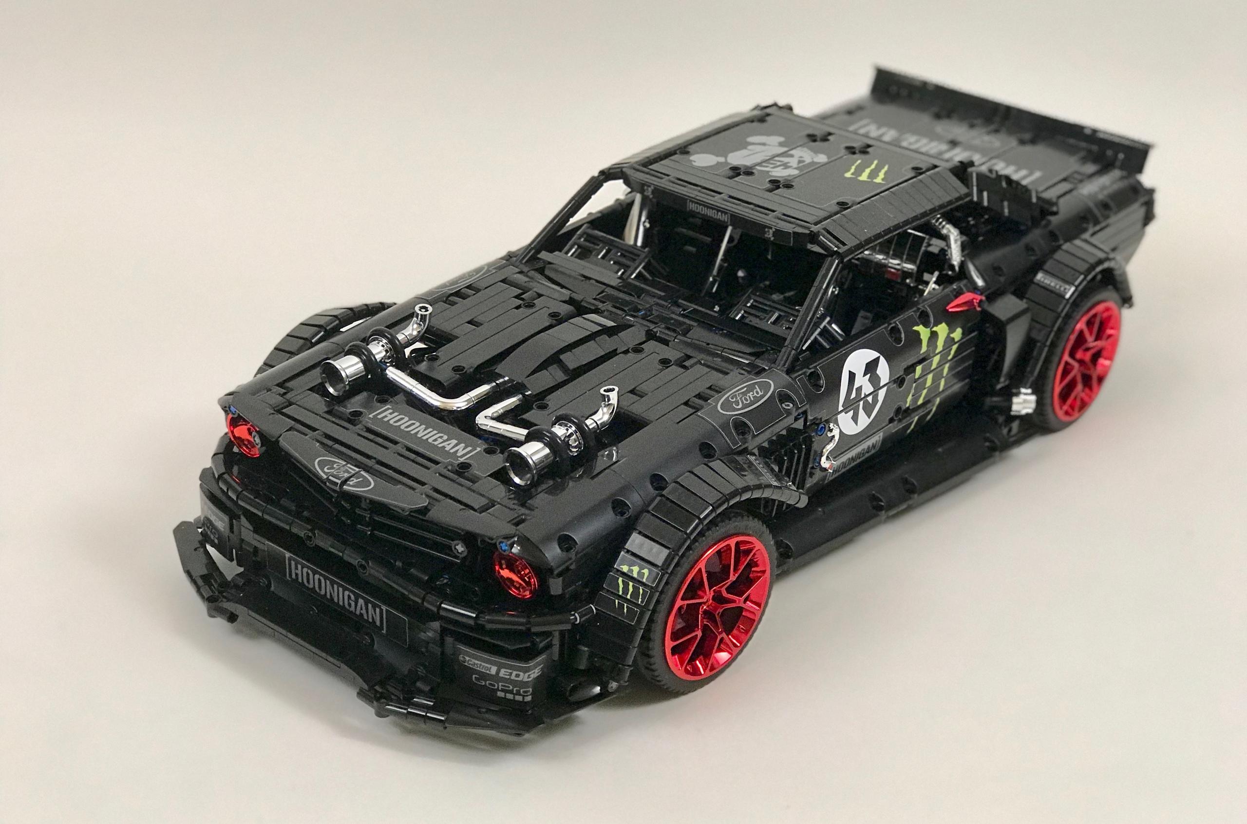 Из Lego сделали копию 1400-сильного «Мустанга» Кена Блока