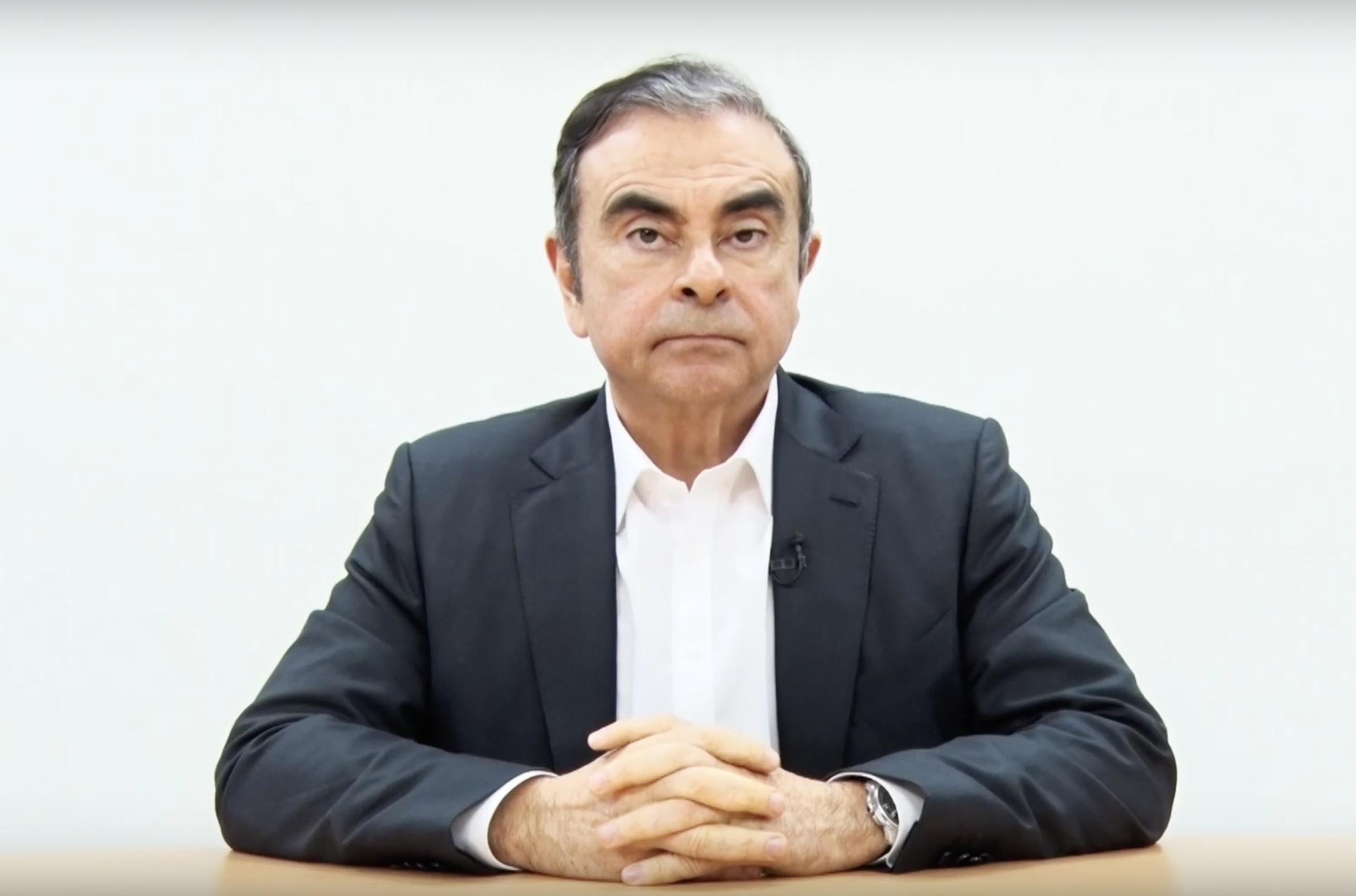 Карлос Гон опубликовал видеообращение, обвинив руководство Nissan в заговоре