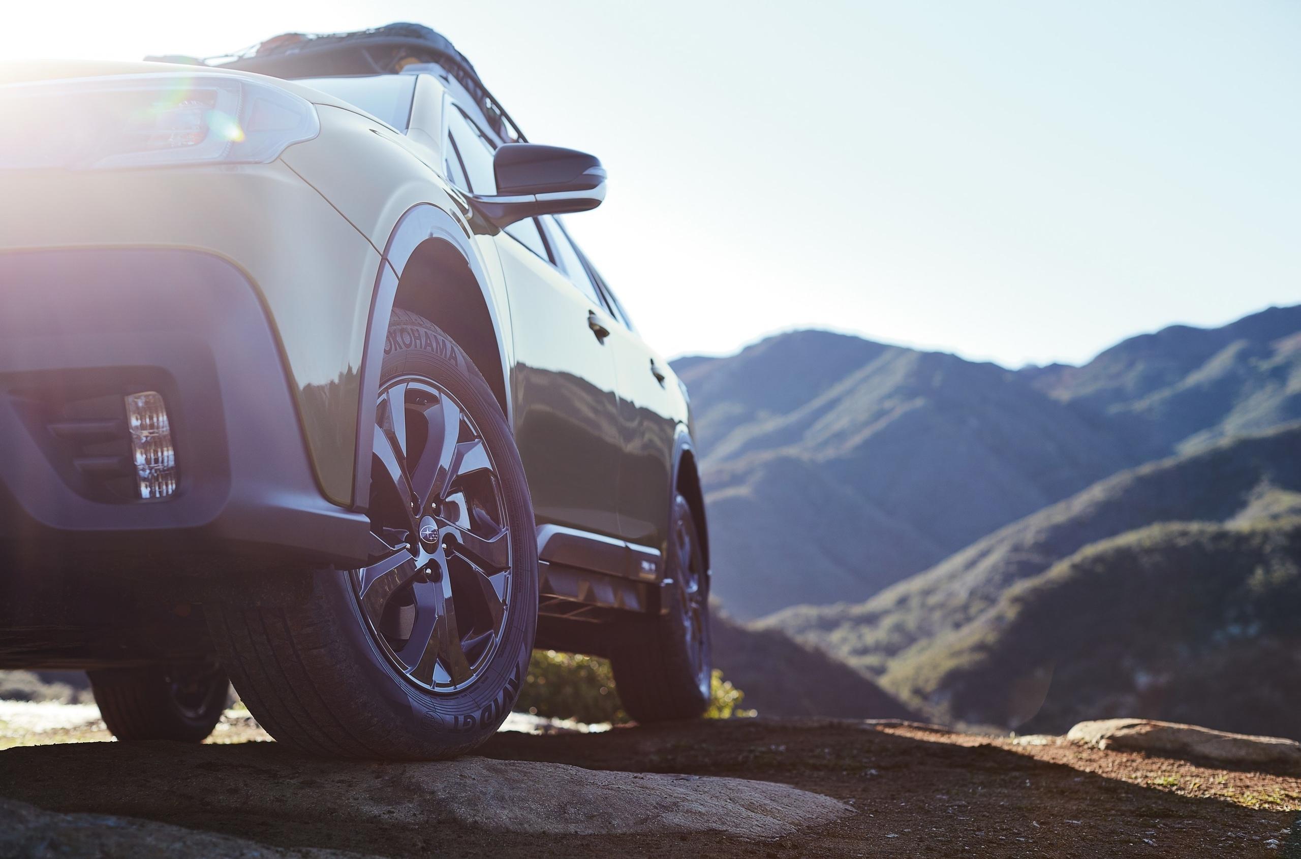 Показаны детали внешности нового Subaru Outback