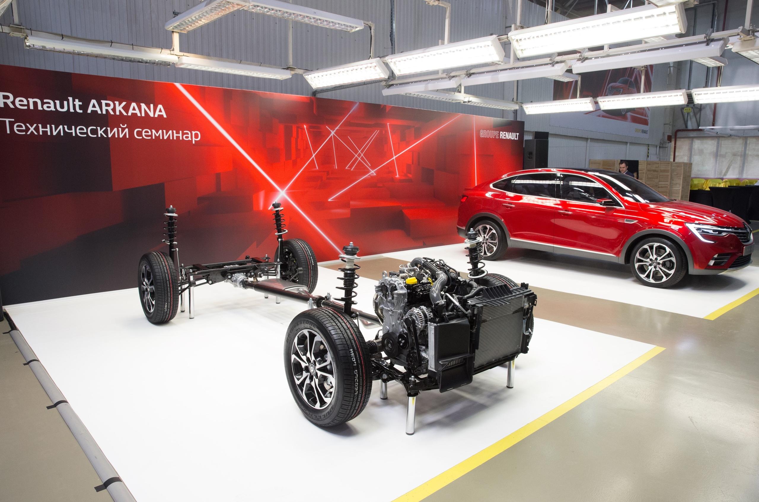 Компания Renault раскрыла подробности о кросс-купе Arkana для России