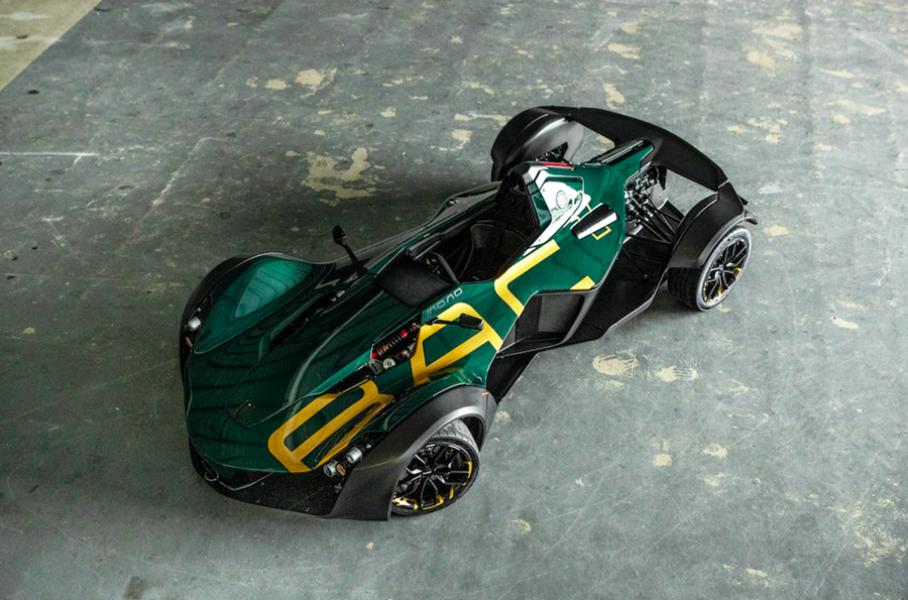Юбилейный трек-кар BAC Mono получил эксклюзивную окраску