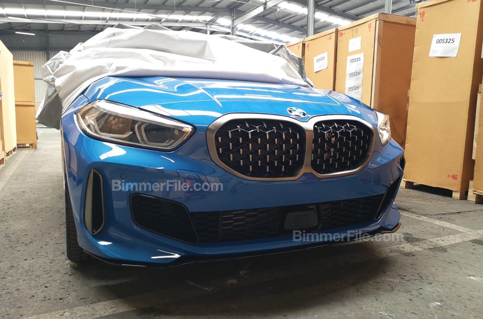 Новый BMW 1 серии сфотографировали без камуфляжа