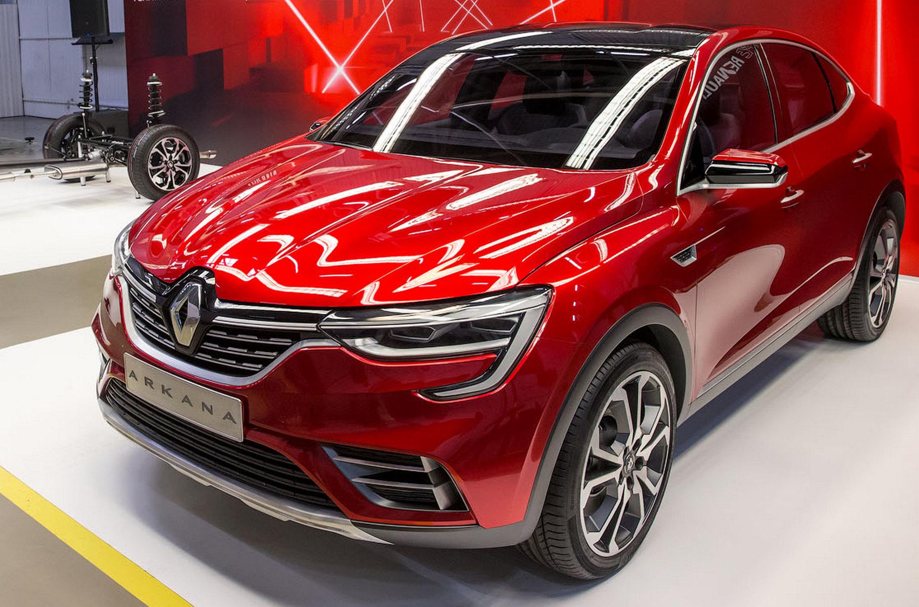Renault Arkana: реформа на платформе