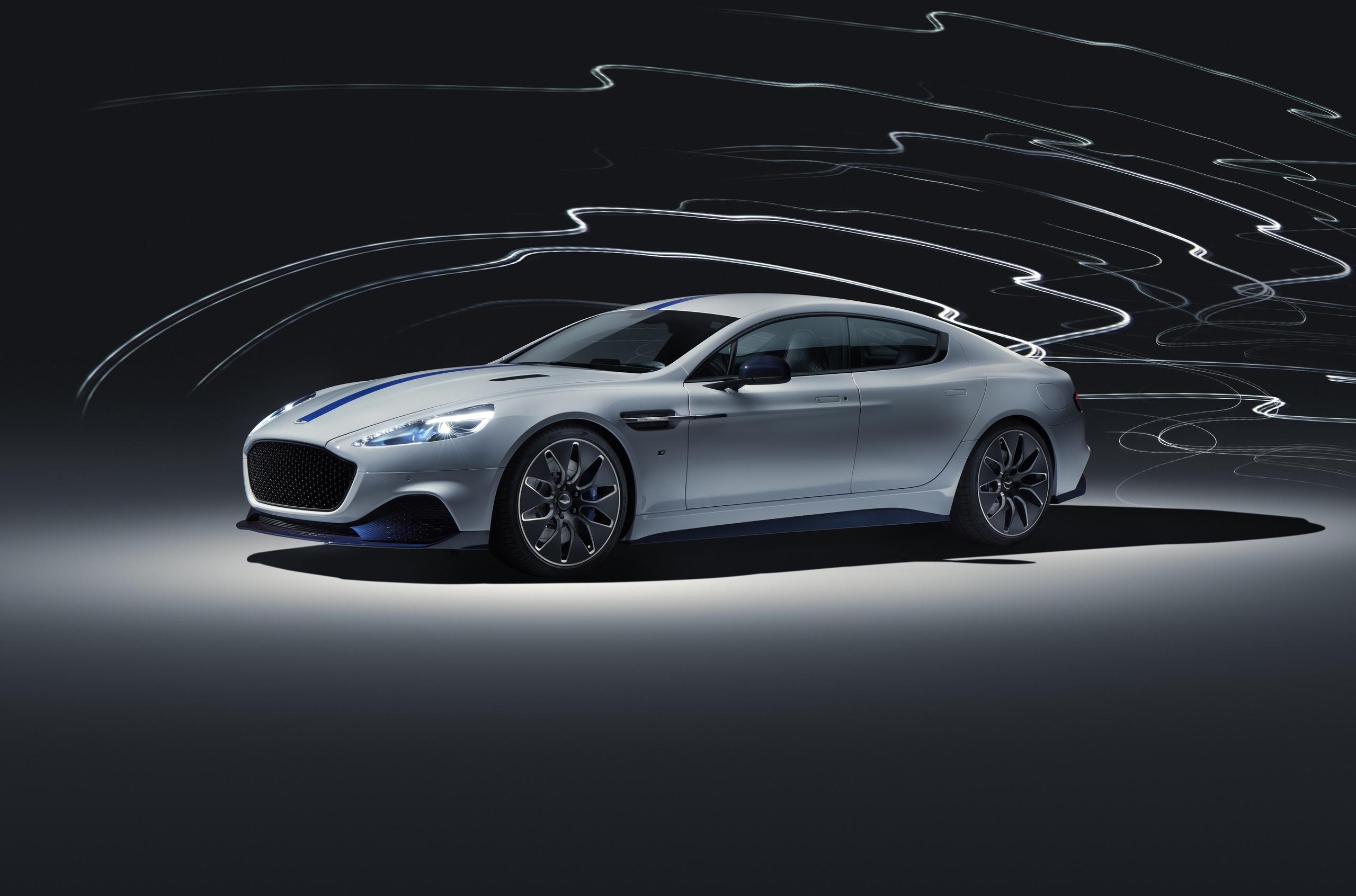 Представлен первый электрический Aston Martin